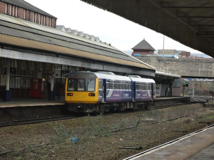 class 142 at Bolton