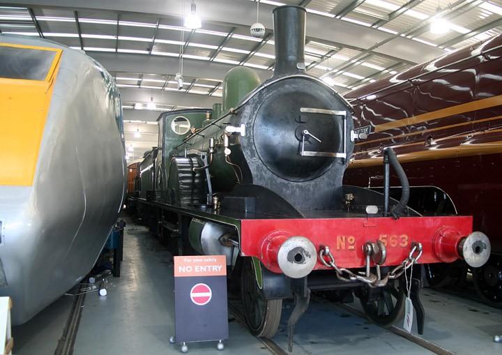 LSWR Adams T3 class 4-4-0 no. 563