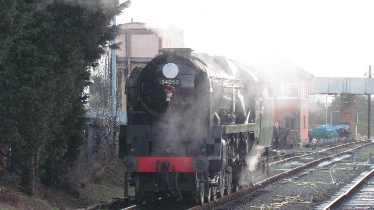 BB Class 34053 at Kidderminster