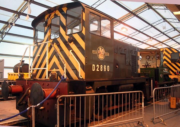 Class 02 D2860 0-4-0 and 0-4-0ST Teddy