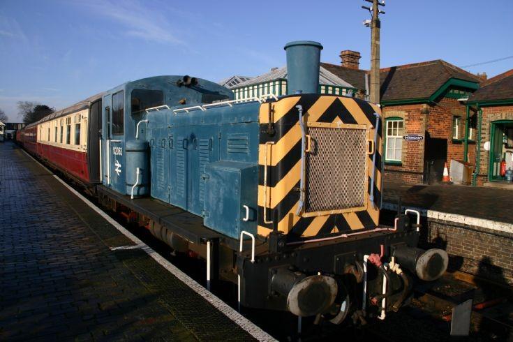 D2063 at Sheringham