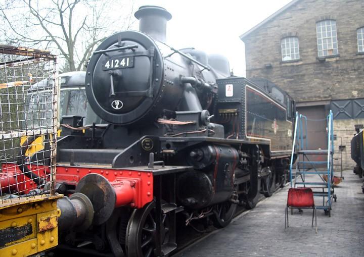 LMS Ivatt Class 2MT 2-6-2T 41241