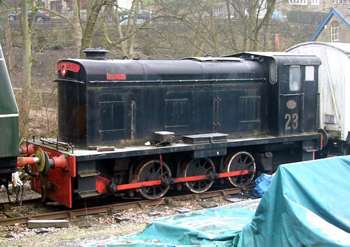 Hudswell Clarke DM 0-6-0 No. 23 Merlin