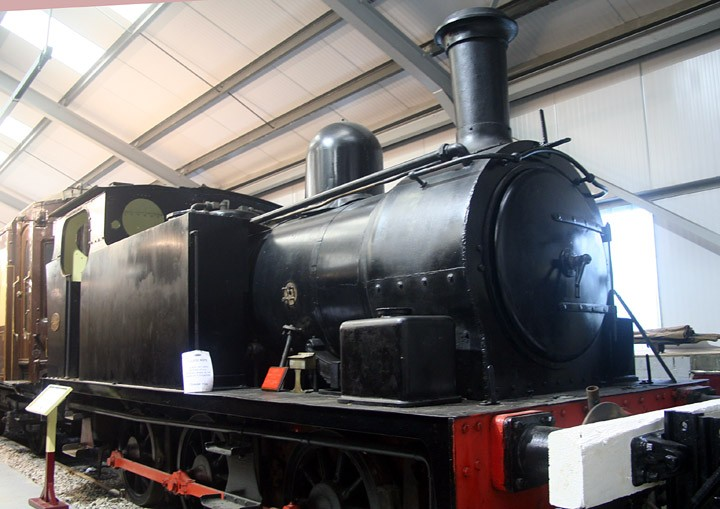 Hudswell Clarke 0-6-0T no. 31 of the MSC