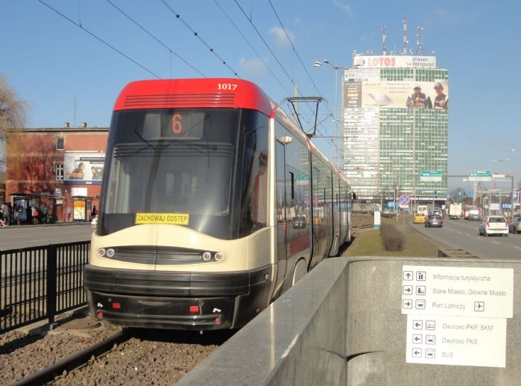 Gdansk Tram 107