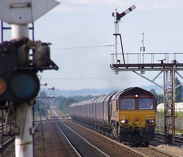 EWS Class 66 near Barnetby