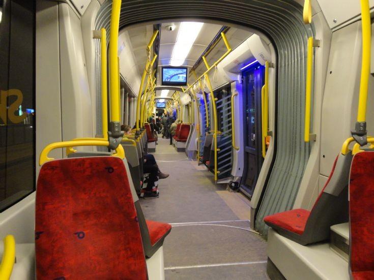 Gdansk Tram Car Interior