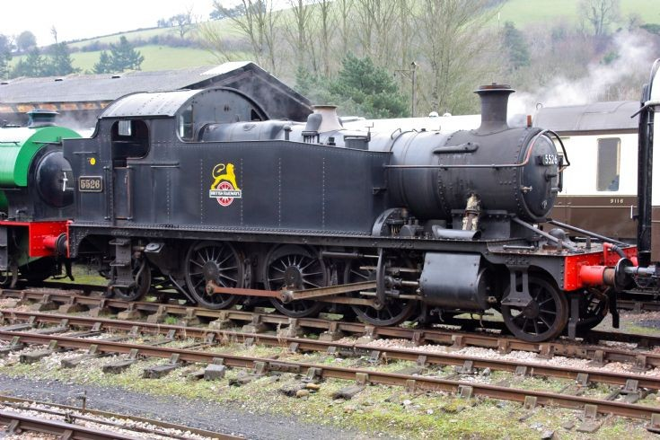 5526 at Buckfastleigh