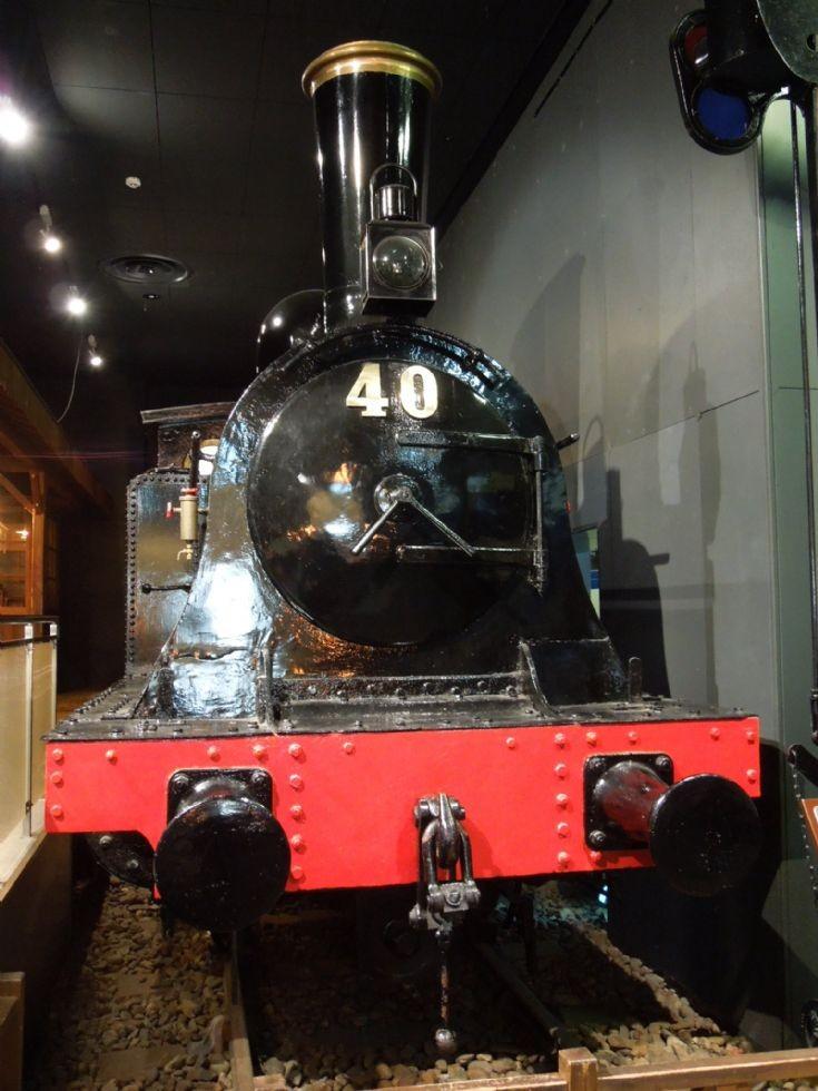 Japanese steam locomotive of 1881