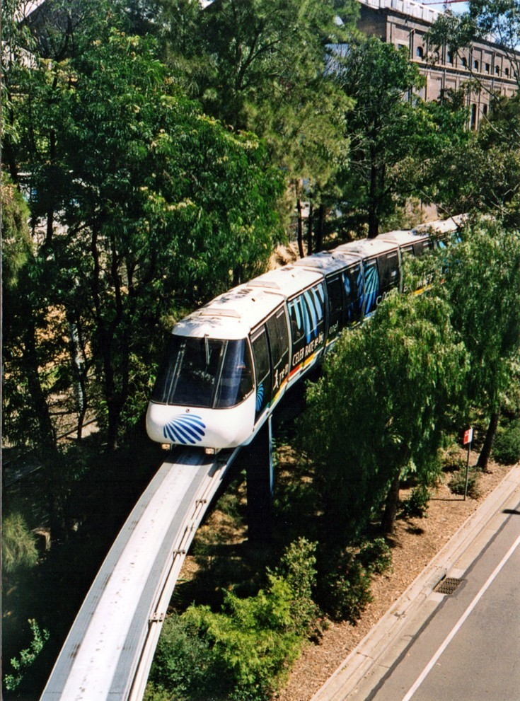 Monorail in Australia