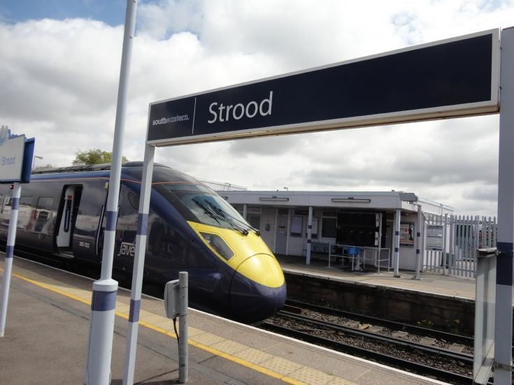 Strood Station Sign