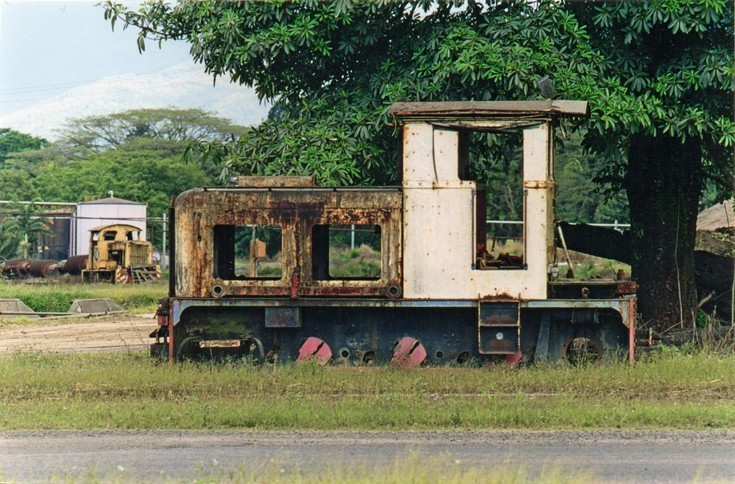 Former sugar cane locomotive