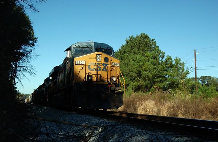 CSX diesel locomotive 5204