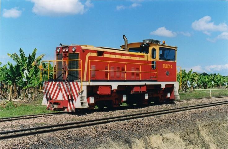 Tully Mill's diesel locomotive