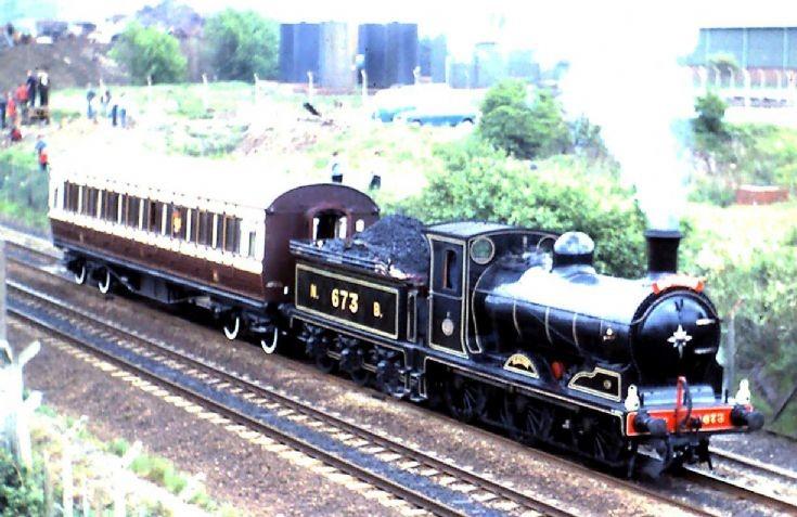 NBR C Class 0-6-0 'Maude' - 673