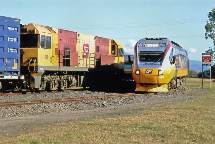 Cairns-Brisbane diesel tilt train