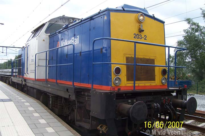 VSRT 203-2 Volkerrail