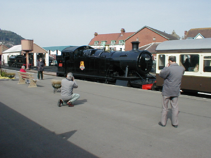 GWR 5224 at Minehead in 2002