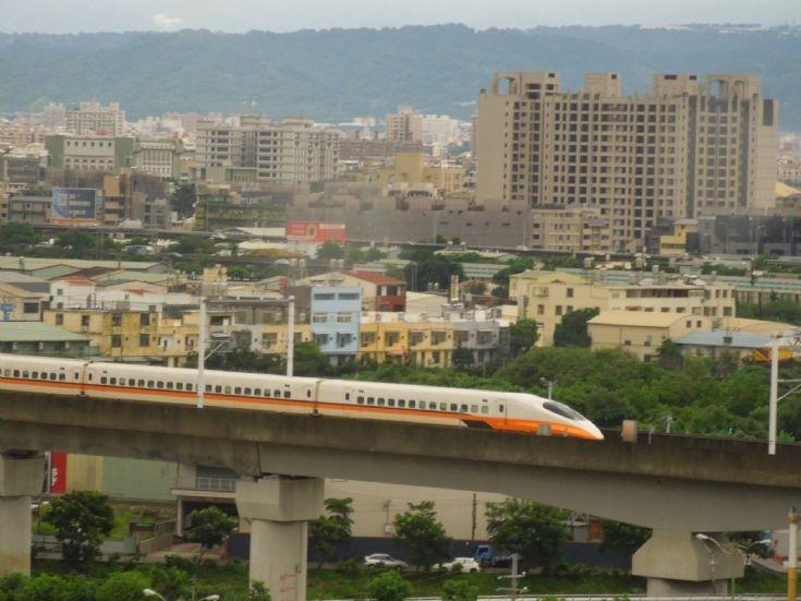 Taiwan High Speed Rail train (2)