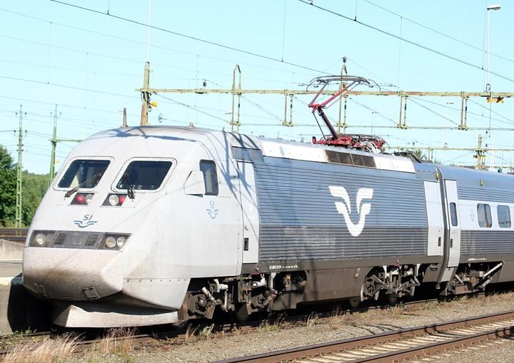 ASEA/SJ X2 electric locomotive no. 2013