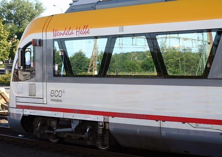 Bombardier Y31 no. 1427 'Wendela Hebbe'.
