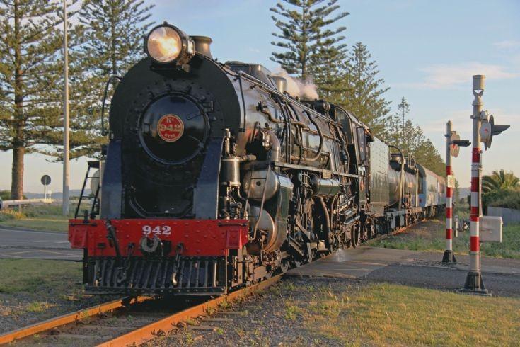 Ka 942 at Napier - New Zealand