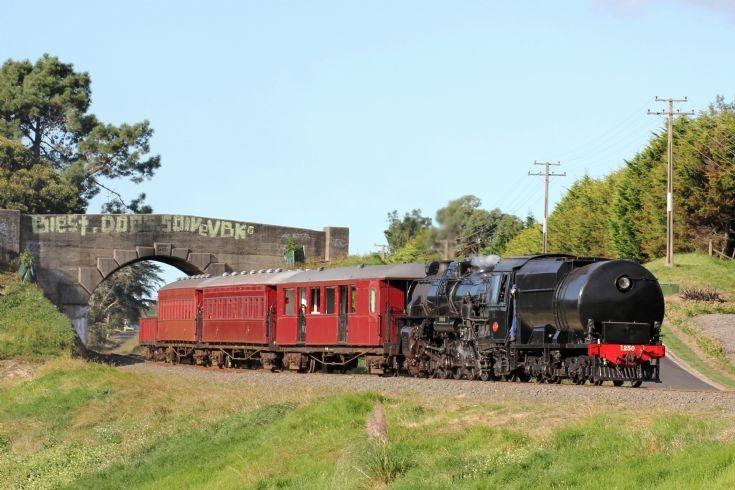 Ja 1250 Glenbrook Vintage Railway - NZ
