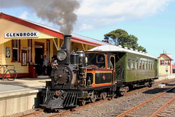2-4-0T L 507, Glenbrook Vintage Railway - NZ
