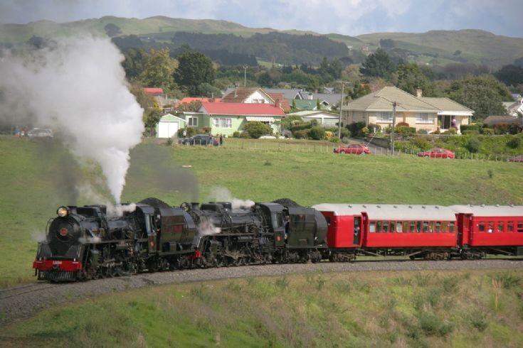 Double Ja 4-8-2 at Glenbrook Vintage Railway
