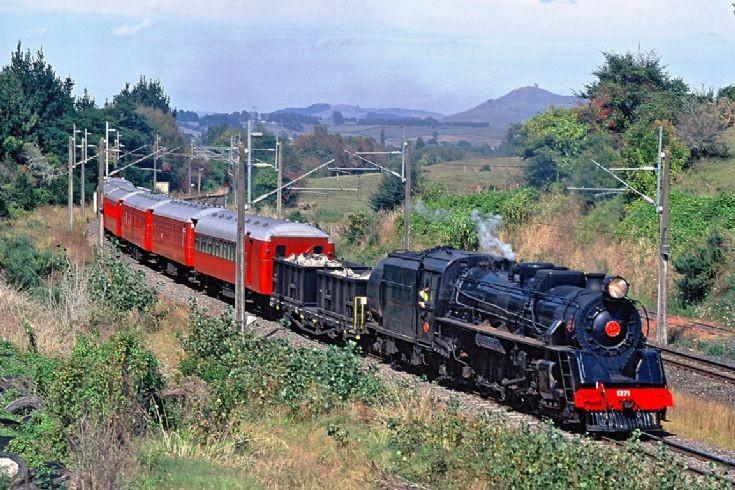 Steam Inc Ja 1271, Te Awamutu - NZ - 1