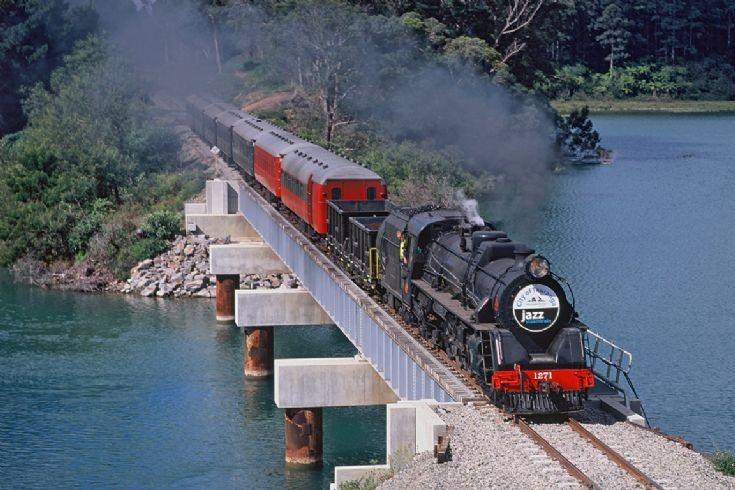 Steam Inc Ja 1271, near Omokoroa - NZ