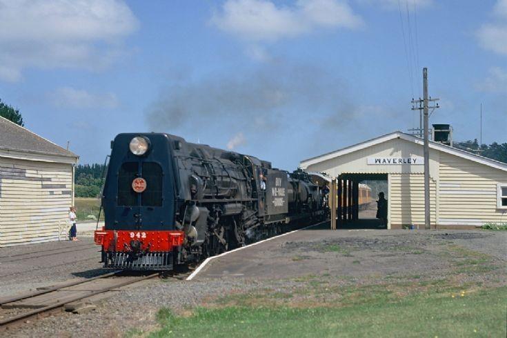 4-8-4 Ka 942, Waverley - New Zealand