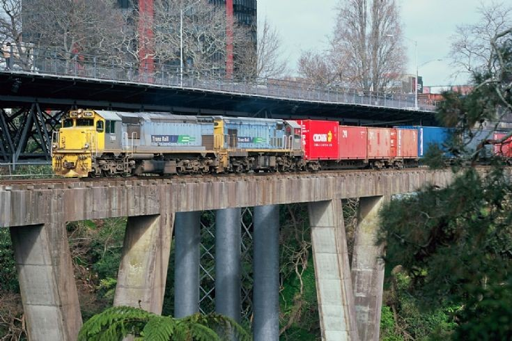 Tranz Rail DFT at Hamilton - New Zealand