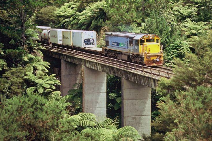 Tranz Rail DFT near Omokoroa - New Zealand