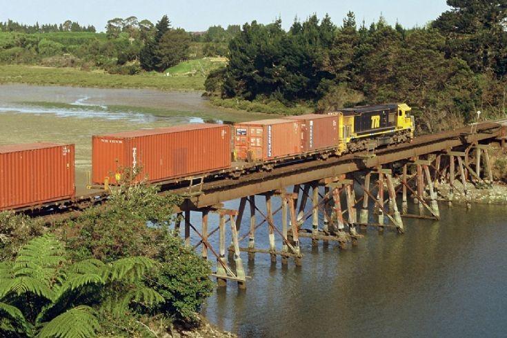 Tranz Rail DFT, Omokoroa - New Zealand