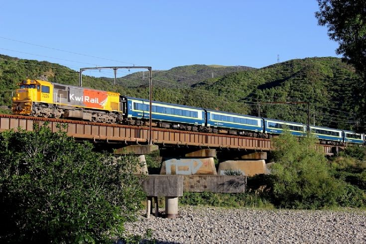 DFM 7226, near Upper Hutt - New Zealand