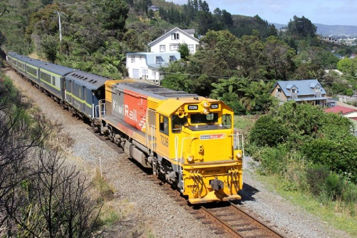 KiwiRail DFM at Upper Hutt - New Zealand