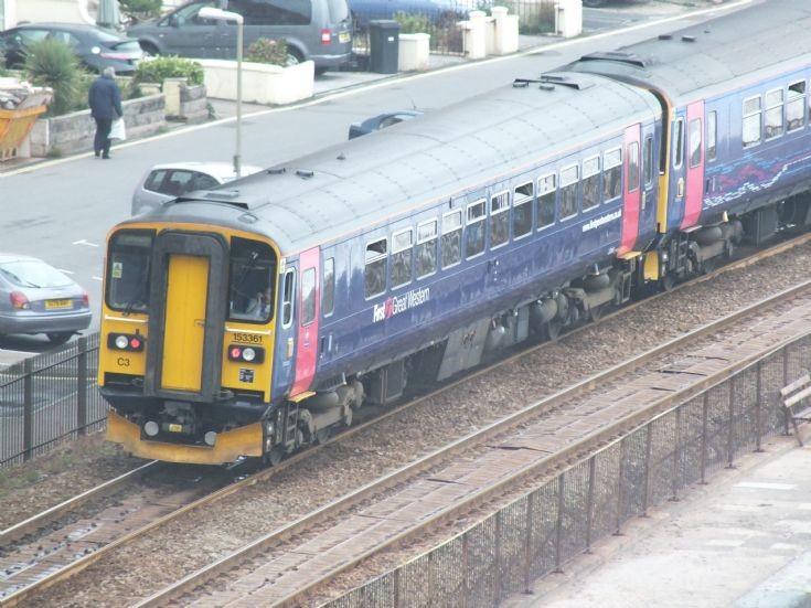 153361 Exeter bound