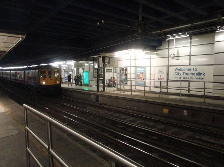 City Thameslink Station Sign