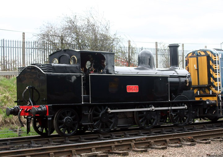 Webb 0-6-2T Coal Tank 1054 (BR 58926)
