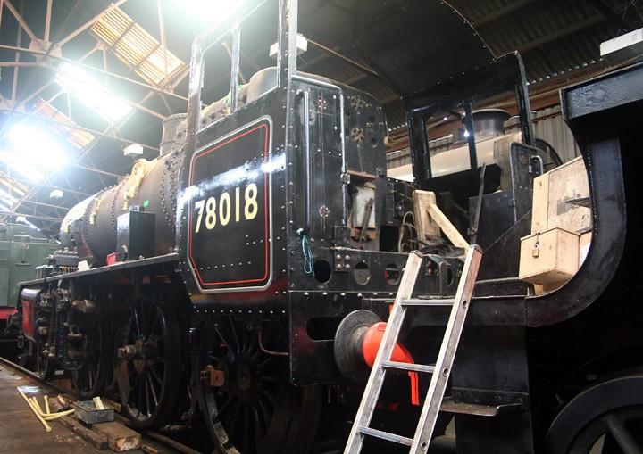 BR Standard Class 2MT 2-6-0 78018