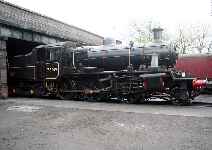 BR Standard Class 2 2-6-0 78019