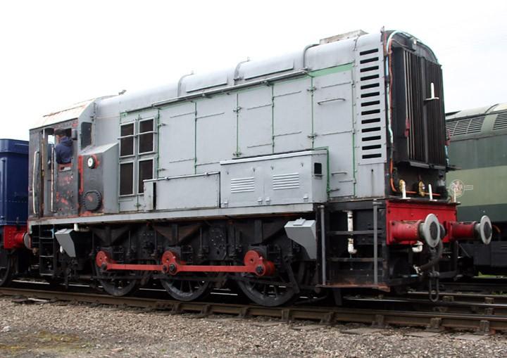 Class 08 0-6-0 diesel shunter D3101