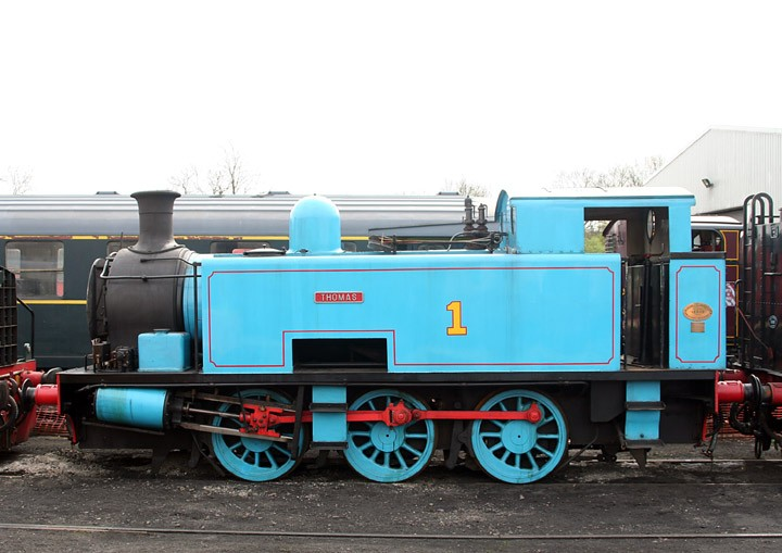 Hudswell Clarke 0-6-0T no. 1800