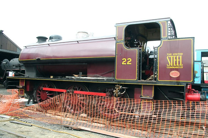 Hunslet 'Austerity' 0-6-0ST no. 22