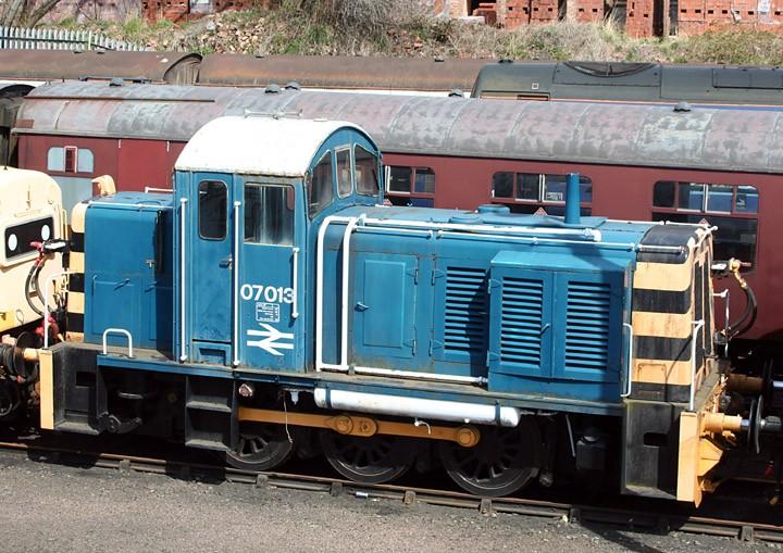 Ruston & Hornsby 0-6-0DE 07013