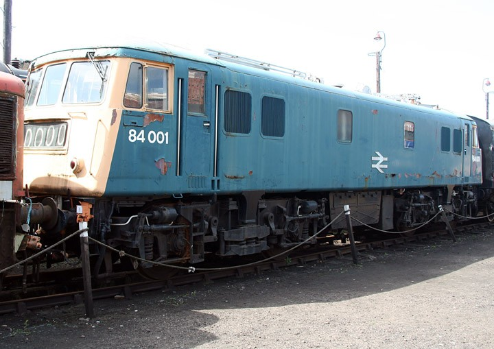 North British Bo-Bo electric locomotive 84001