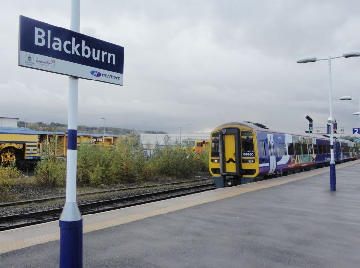 Blackburn station sign