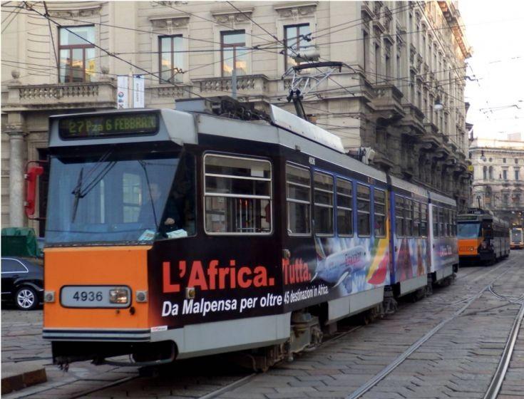 4936 Tramway - Milan - Italy