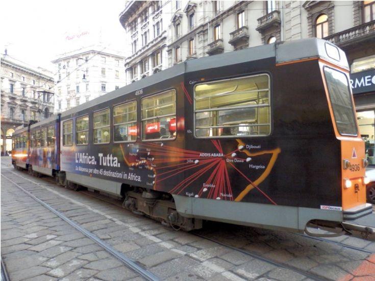 4936  Tramway - Milan - Italy - 2